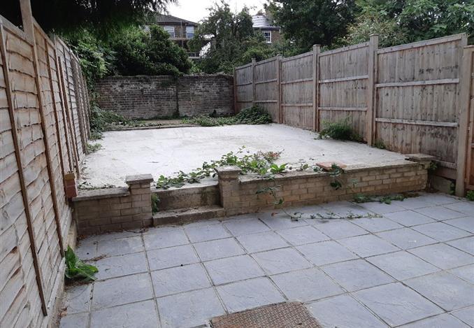 Communal backyard