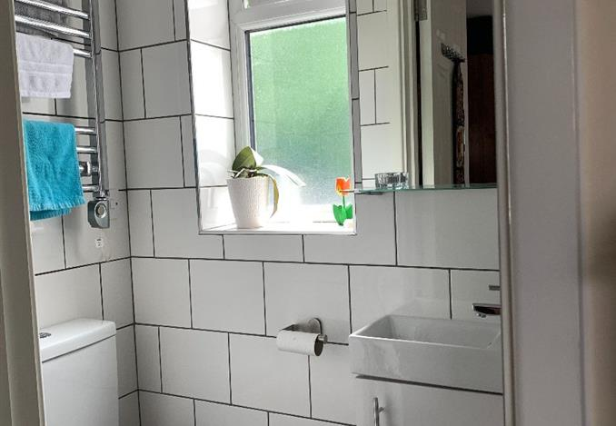 The bathroom now